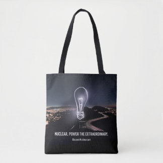 Nuclear. Power the Extraordinary Tote Bag