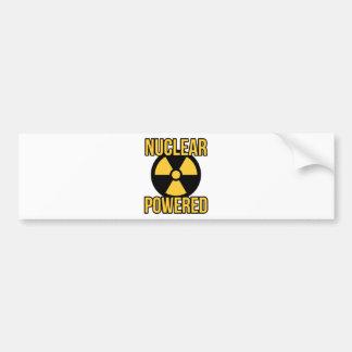 Nuclear Powered Bumper Sticker