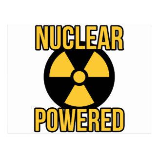 Nuclear Powered Postcard