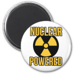 Nuclear Powered Refrigerator Magnet