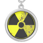 Nuclear Powered Round Pendant Necklace