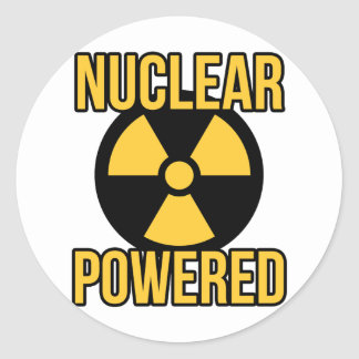 Nuclear Powered Sticker