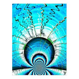 Nuclear reaction postcard