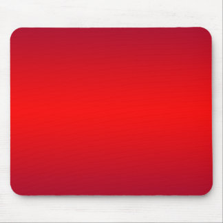 Nuclear Red Gradient - Poppy Reds Template Blank Mouse Pad