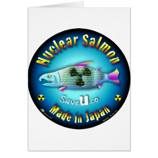 Nuclear Salmon blue Card