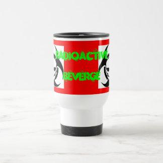 nuclear skull travel mug