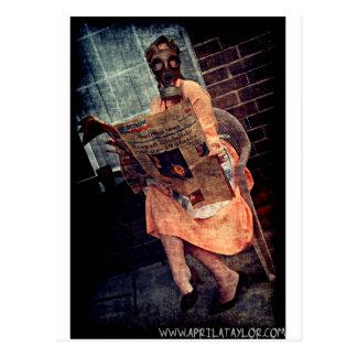 Nuclear Sunday by April A Taylor Postcard