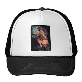 Nuclear Sunday by April A Taylor Trucker Hat
