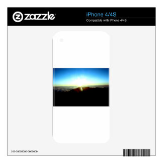 Nuclear Sunrise Skins For The iPhone 4S