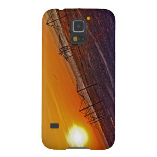 Nuclear Sunset Case For Galaxy S5