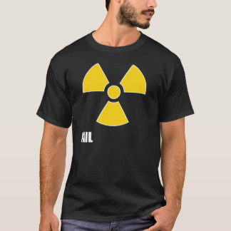 Nuclear Symbol FAIL Dark T-Shirt