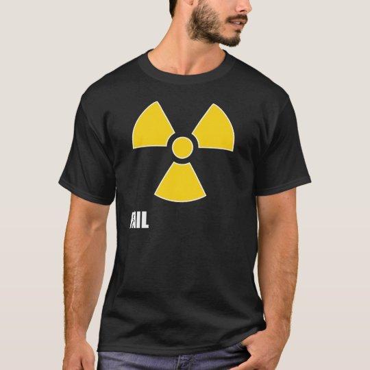 Nuclear Symbol FAIL Dark T-Shirt