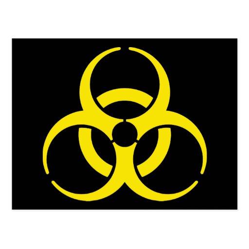 Nuclear Symbol Postcard   Zazzle