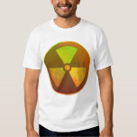 Nuclear Symbol Radioactive Glow T-shirt