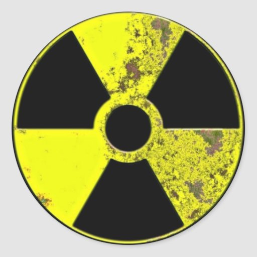Nuclear Symbol Stickers