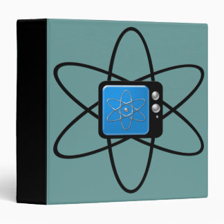 Nuclear Television Customizable Binder