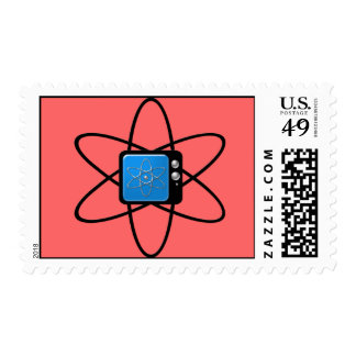 Nuclear Television Stamps