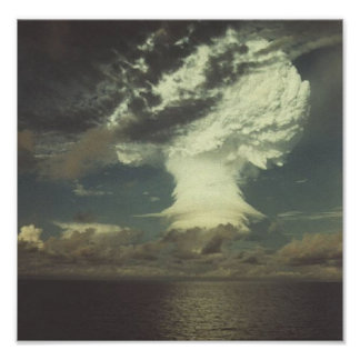 "Nuclear Test Photo ""Mike"" Poster"