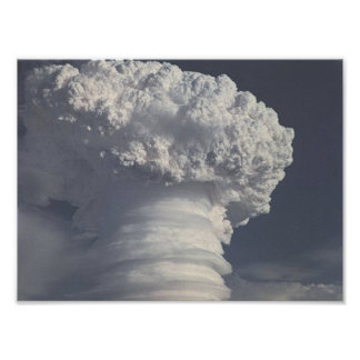 Nuclear Test Photo Poster