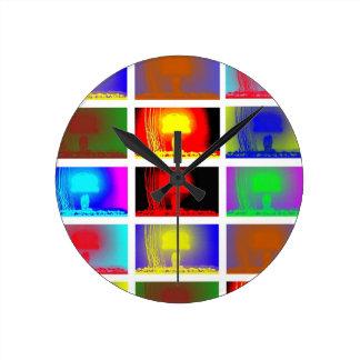 Nuclear the Atom Bomb Clock