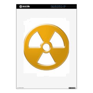 Nuclear Warning iPad 2 Decals
