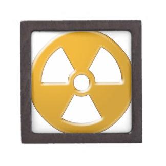 Nuclear Warning Keepsake Box