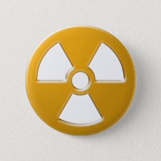 Nuclear Warning Pinback Button
