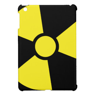 Nuclear warning sign iPad mini cover