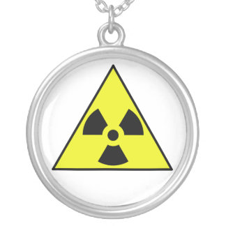 Nuclear Warning Triangle Custom Jewelry