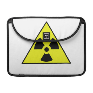 Nuclear Warning Triangle Sleeve For MacBook Pro