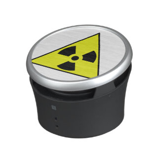 Nuclear Warning Triangle Bluetooth Speaker