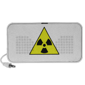 Nuclear Warning Triangle Portable Speakers
