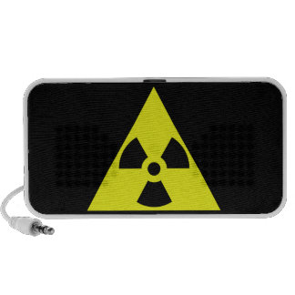Nuclear Warning Triangle iPhone Speaker