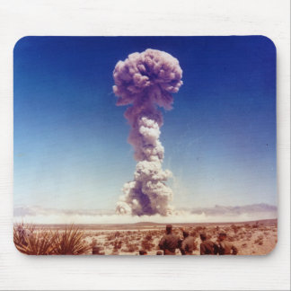 Nuclear Weapons Test Operation Buster-Jangle 1951 Mousepad