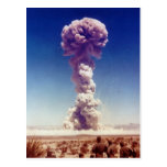 Nuclear Weapons Test Operation Buster-Jangle 1951 Postcard