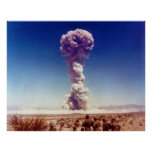 Nuclear Weapons Test Operation Buster-Jangle 1951 Poster