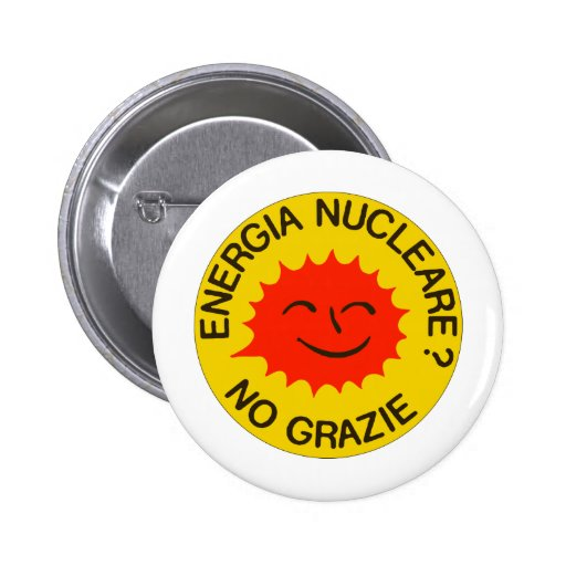 ¡Nucleare NINGÚN GRAZIE! Pins