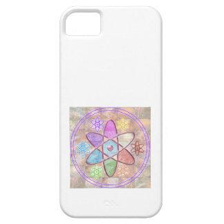 NÚCLEO - adición de belleza a la ciencia iPhone 5 Case-Mate Coberturas
