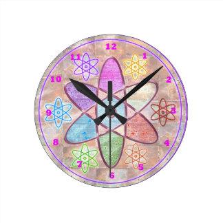 NÚCLEO - adición de belleza a la ciencia Reloj Redondo Mediano