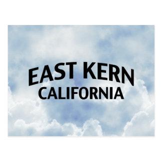 Núcleo de condensación del este California Tarjeta Postal