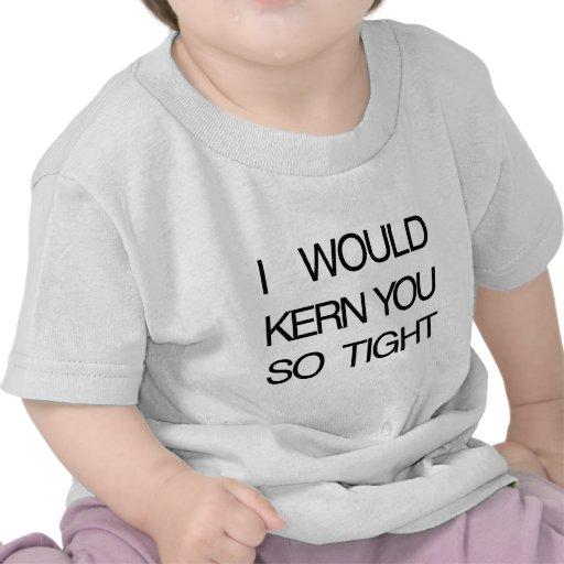 Núcleo de condensación usted firmemente camiseta