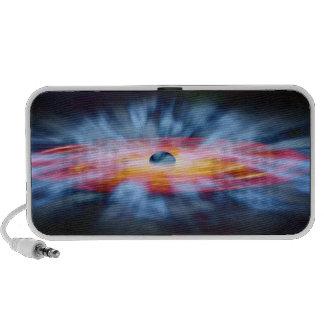 Núcleo del Active de la galaxia de NASAs Altavoz