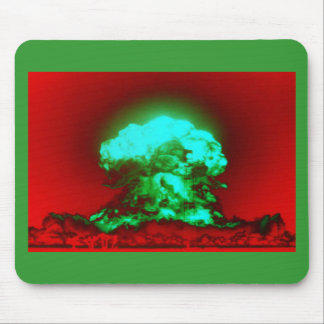nucler radation trippy mouse pad