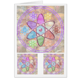 NUCLEUS - Adding Beauty to Science Card