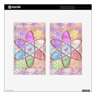 NUCLEUS - Adding Beauty to Science Decals For Kindle Fire