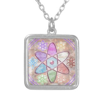 NUCLEUS - Adding Beauty to Science Necklace