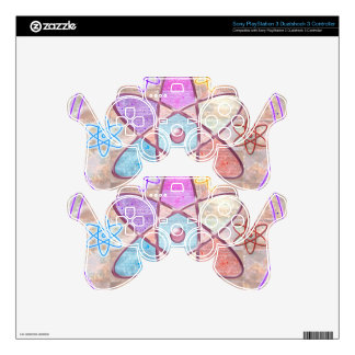 NUCLEUS - Adding Beauty to Science PS3 Controller Decal