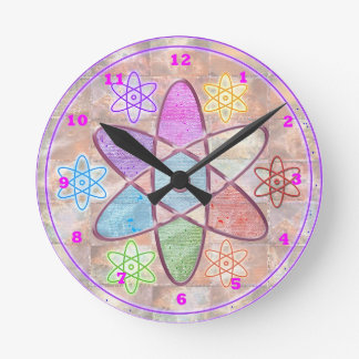 NUCLEUS - Adding Beauty to Science Round Clock