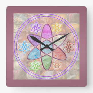 NUCLEUS - Adding Beauty to Science Square Wall Clock