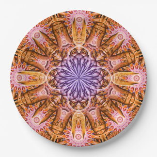 Nucleus Mandala Paper Plate